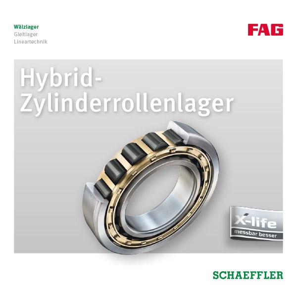 Hybrid- Zylinderrollenlager
