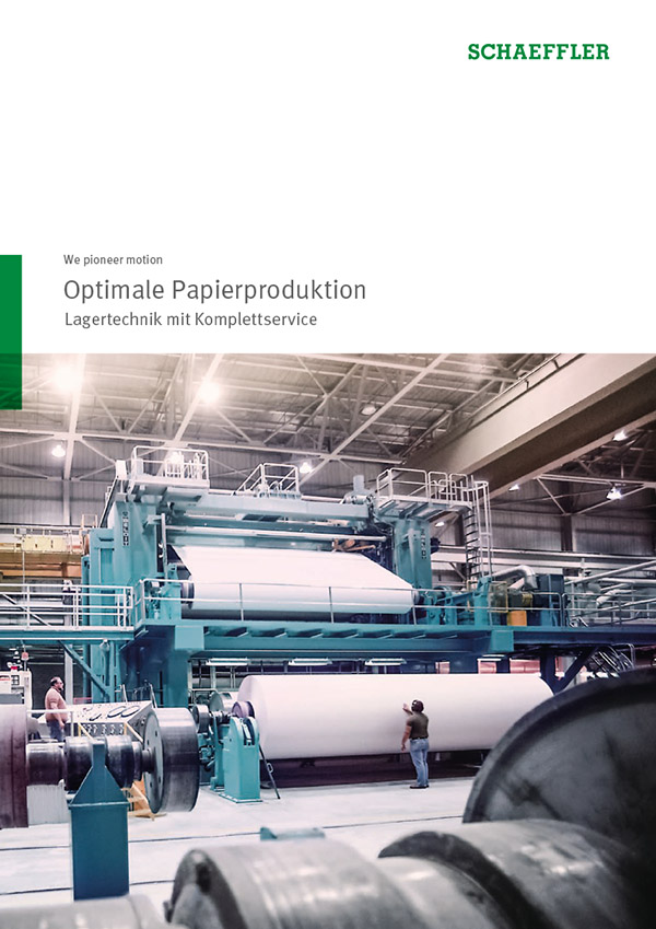 Optimale Papierproduktion