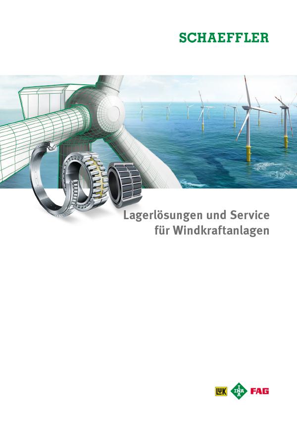 Lagerlösungen und Service für Windkraftanlagen