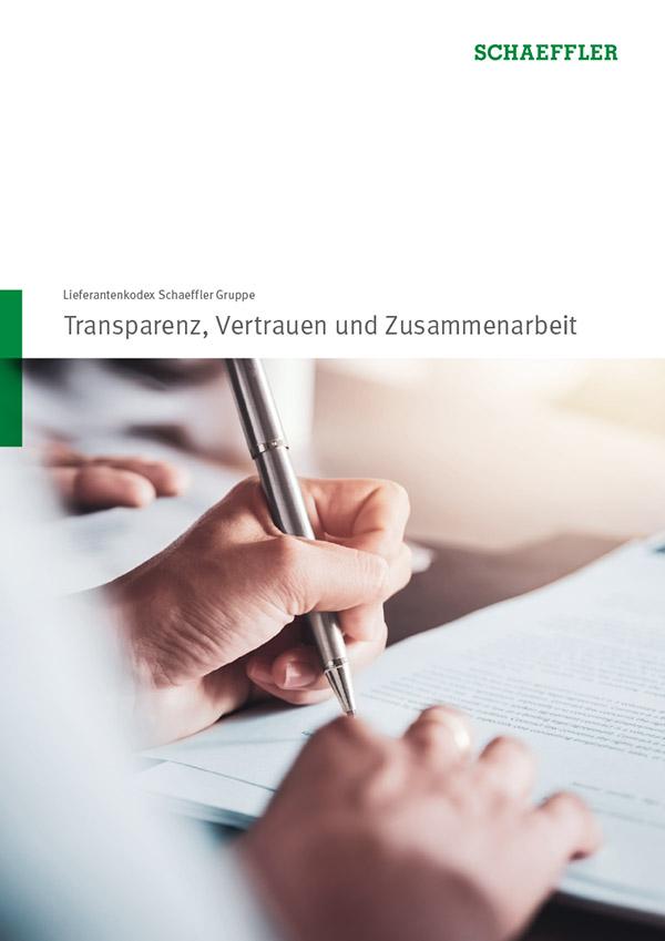 Lieferantenkodex Schaeffler Gruppe