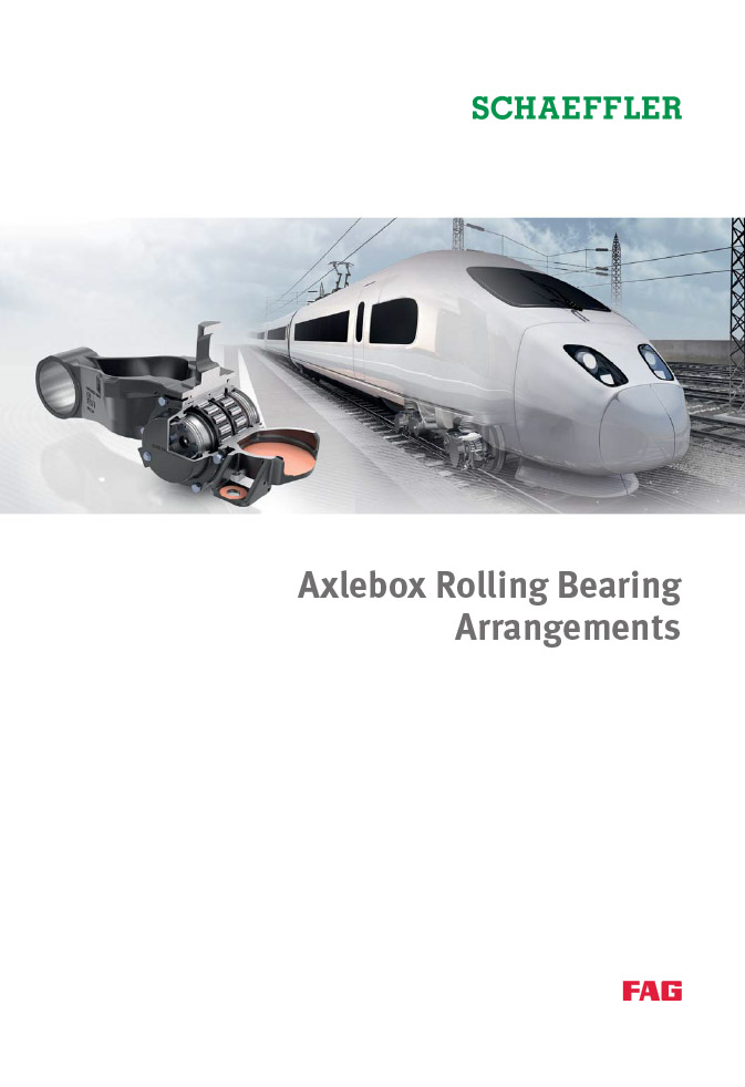 Axlebox Rolling Bearing Arrangements