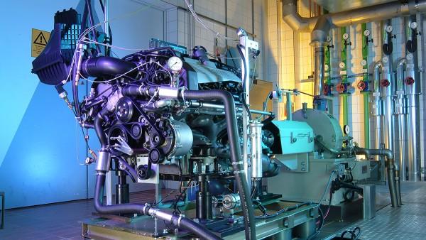 Schaeffler Branchenlösungen für Motorräder und Sonderfahrzeuge: Motorenprüfstand
