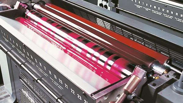Schaeffler Branchenlösungen für Druckereimaschinen