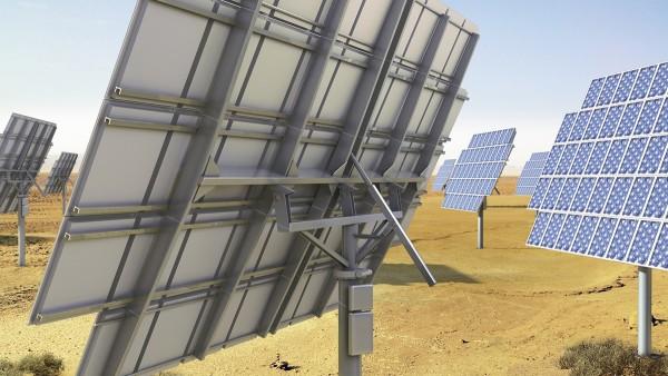Nachgeführt werden die Anlagen besonders bei der konzentrierten Photovoltaik.