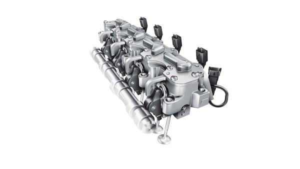 vollvariables elektrohydraulisches Ventiltriebsystem UniAir