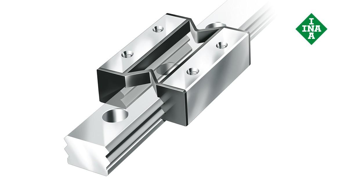Schaeffler Linearführungen:  Miniatur-Gleitführungen