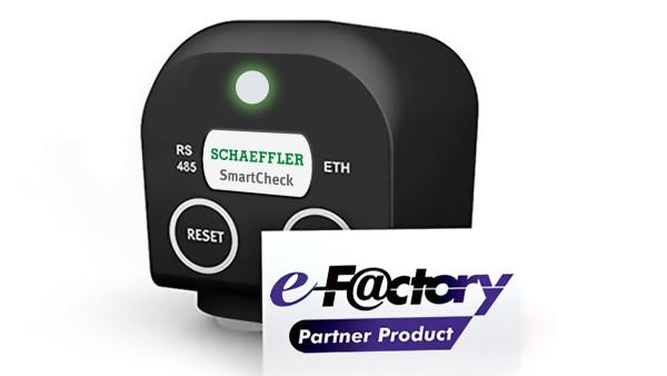 Schaeffler SmartCheck e-F@ctory Partnerprodukt
