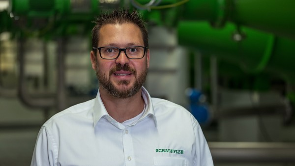 Thomas Schmitz, Service Manager Condition Monitoring bei Schaeffler
