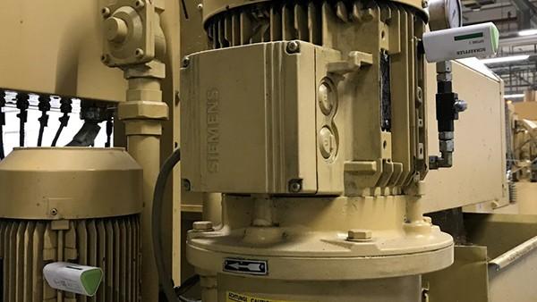 Motorenüberwachung in Fräsmaschinen
