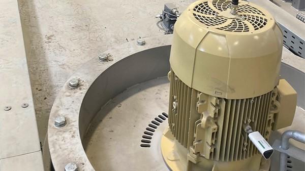 Motorenüberwachung von Wärmebehandlungsmaschinen