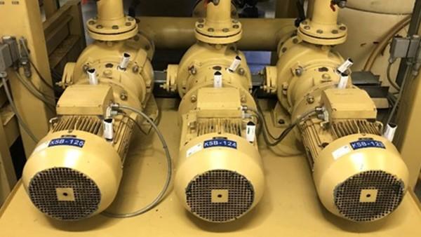 Motorenüberwachung in einer zentralen Versorgungsanlage