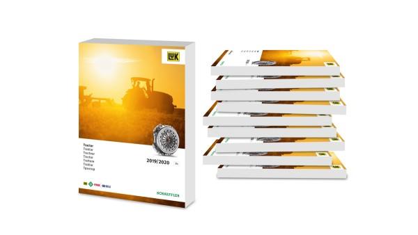 Umfangreiches Sortiment an Reparaturlösungen für Traktorkupplungen gebündelt im LuK-Ersatzteilkatalog von Schaeffler