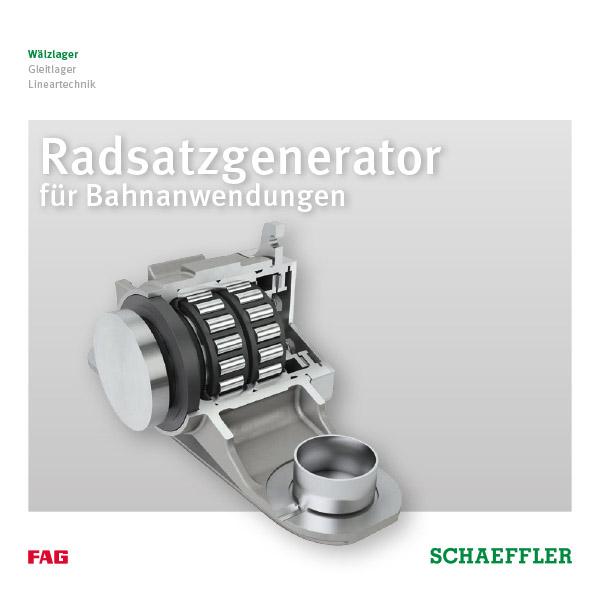 Radsatzlager- Generator