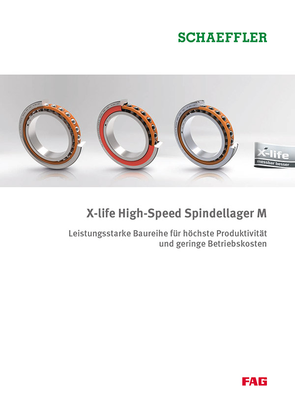 X-life High-Speed Spindellager M