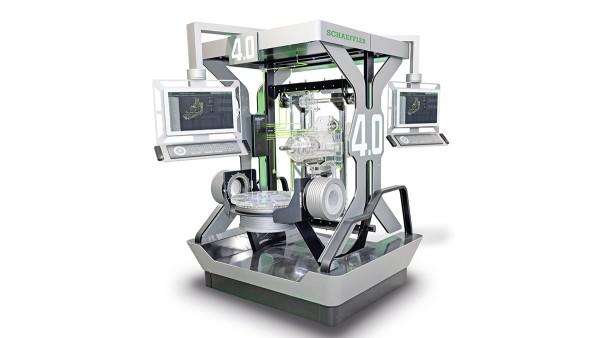 Die Werkzeugmaschine 4.0 vernetzt vom Sensor bis in die Cloud bestehende Technik mit neuen digitalisierten Komponenten.