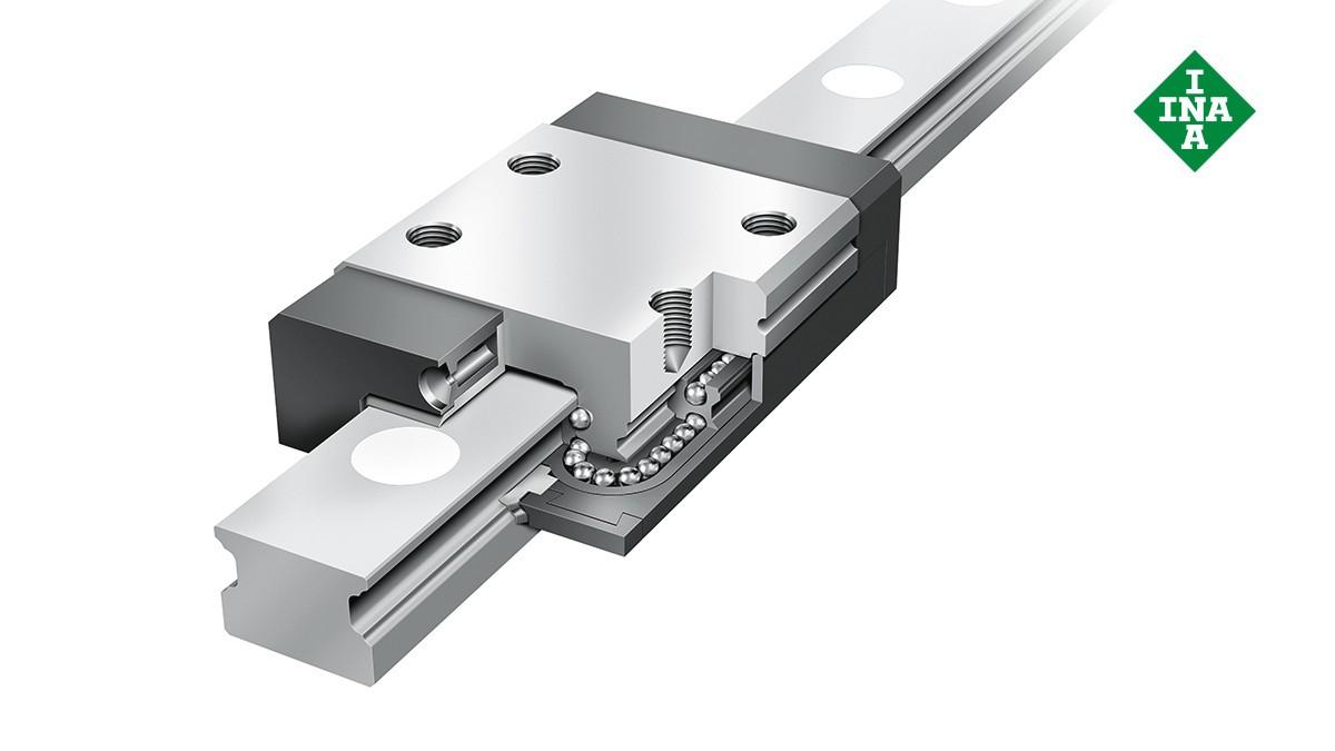 Schaeffler Linearführungen: Miniatur-Kugelumlaufeinheiten