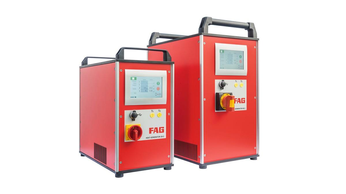 Schaeffler Instandhaltungsprodukte: Induktionsanlagen mit Mittelfrequenztechnik