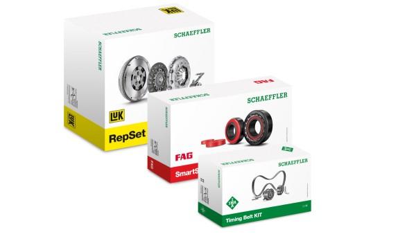Automotive Aftermarket von Schaeffler verleiht Produktverpackungen neue Optik